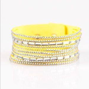 Jewelry - 💫 Name Your Price Yellow Bracelet